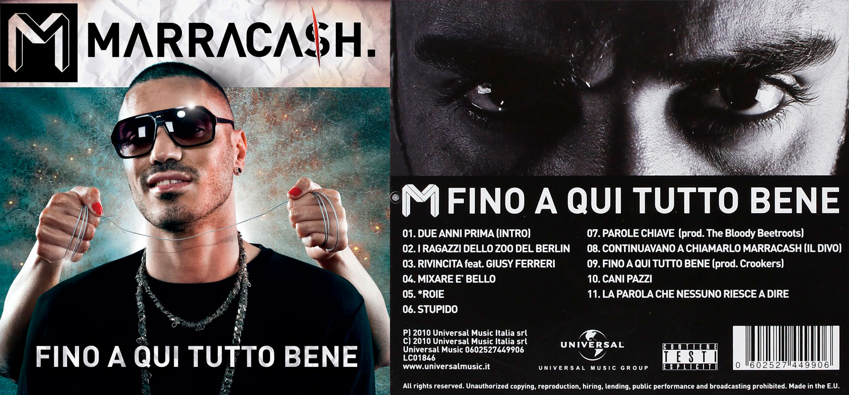 MARRACASH - Fino a qui tutto bene