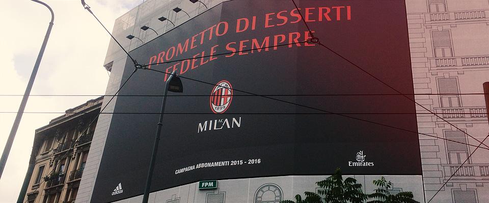 AC MILAN - ADV campaign